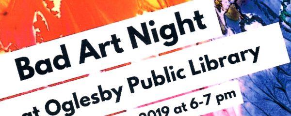 Bad Art Night flyer