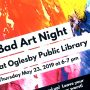 Bad Art Night flyer