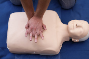CPR dummy Image from http://littleshipclub.co.uk/training/rya-one-day-first-aid-course-2